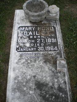 Mary <i>Ford</i> Bailey