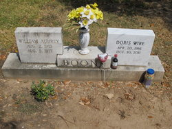 Doris <i>Wire</i> Boone