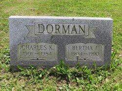 Bertha F <i>Lenig</i> Dorman