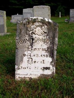 John W Baldwin