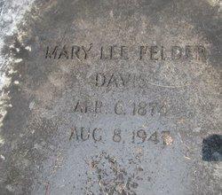 Mary Lee <i>Felder</i> Davis