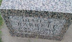 Ollie B. <i>Gilliland</i> Barrett