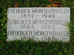 Frederick H Morgenthaler