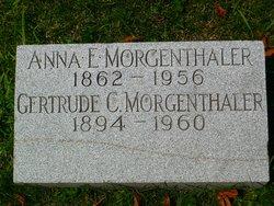 Gertrude C Morgenthaler