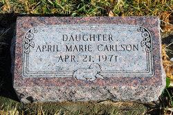 April Marie Carlson