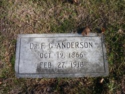 Dr F. G. Anderson