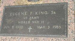 Eugene F. King, Sr