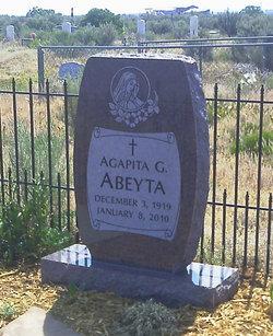 Agapita <i>G</i> Abeyta