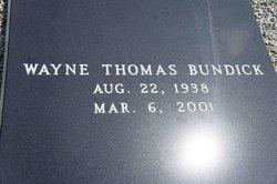Wayne Thomas Bundick