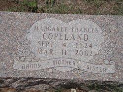 Margaret Frances Copeland