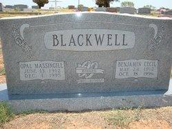 Opal <i>Massingill</i> Blackwell