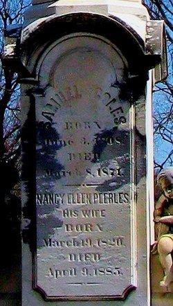 Nancy Ellen <i>Peebles</i> Coles