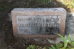 Geraldine M. Garrett