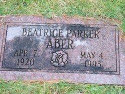 Beatrice Marie Bea <i>Parker</i> Aber