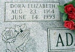 Dora Elizabeth <i>Molz</i> Adams