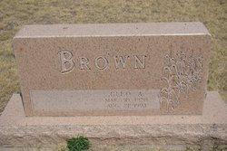 Cleo Albert Brown