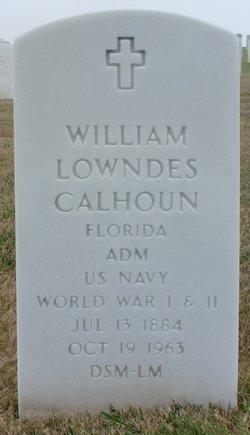 Adm William Lowndes Willie Calhoun