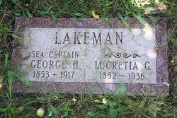 Capt George Hunter Lakeman