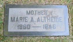 Marie Albertina <i>Klemm</i> Altheide