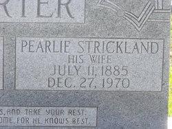 Pearlie Ann <i>Strickland</i> Porter