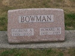 Florene A. <i>DeBolt</i> Bowman