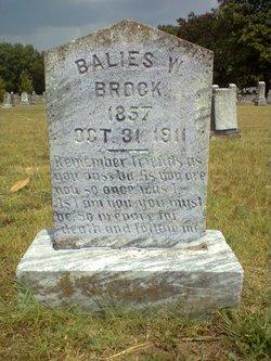 Balies W Brock