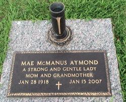 Willie Mae <i>McManus</i> Aymond