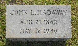 John Lee Hadaway