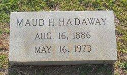Maud <i>Heard</i> Hadaway