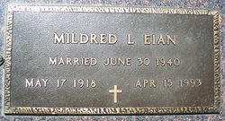 Mildred Lucille <i>Langlie</i> Eian