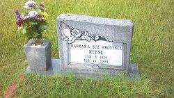 Barbara Sue <i>Province</i> Neese