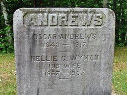 Nellie C <i>Wyman</i> Andrews