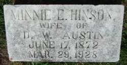Minnie <i>Hinson</i> Austin
