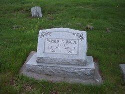 Harold G Muck Brode