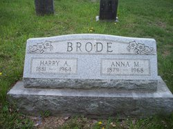 Anna M <i>Deal</i> Brode