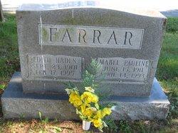 Mabel Pauline Farrar