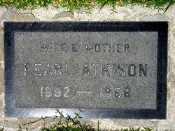 Pearl F <i>Boyd</i> Atkison