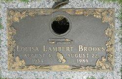 Louisa Blaine Lou <i>Lambert</i> Brooks