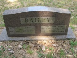 Sarah Elizabeth <i>Walker</i> Bailey