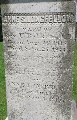 Anne S <i>Longfellow</i> Balkam