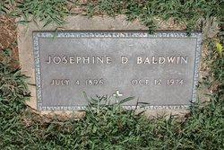 Josephine D. Baldwin
