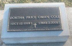 Dortha <i>Price</i> Cole