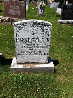 Angeline <i>Gaudet</i> Arsenault