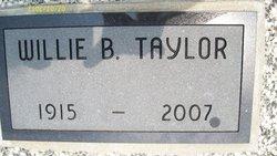 Willie Branson Taylor