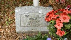 Fannie <i>Phillips</i> Ambrose