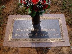 Mattie Mae Simpson