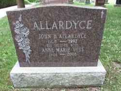 Anne Marie <i>Voss</i> Allardyce