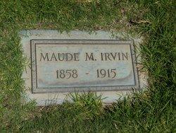 Maude M. <i>Awalt</i> Irvin