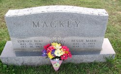 Bessie Marie <i>Algood</i> Mackey