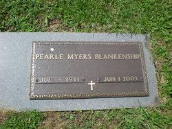 Pearle Ruby <i>Myers</i> Blankenship